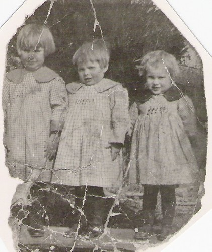 Grandma as a Child on the Right