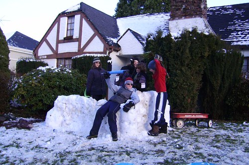 Snow Fort Front