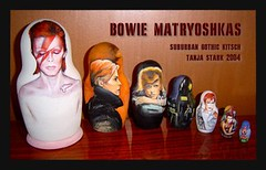 david bowie matryoshka dolls - by sublime cowgirl - tanja stark