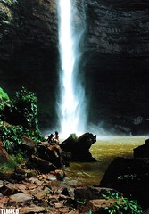 Vu de Noiva - Chapada dos Guimares - Mato Grosso - Brasil (TLMELO) Tags: brazil brasil waterfall hiking hike tiago thiago justdoit noiva chapada guimares melo vu impossibleisnothing keepwalking thiagomelo holidaysvancanzeurlaub tlmelo dotheimpossible