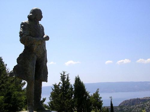 ukraden kip Antuna Mihanovića