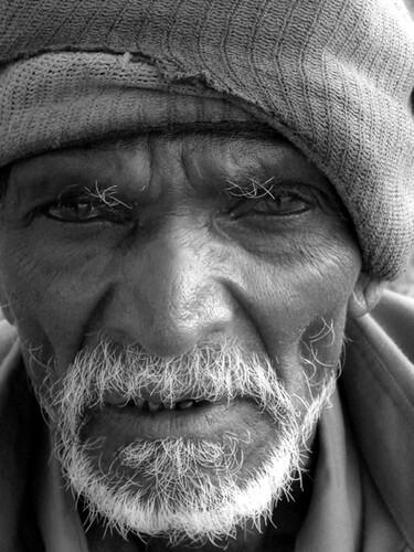 Old man portraits