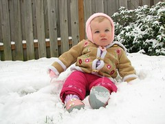 Miriam's First Snow - Snow Angel