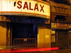 decadencia (cmedrang) Tags: city españa cinema night lights noche calle sevilla andalucía spain decay ciudad cine urbano nocturno abandono decadencia trajano salax