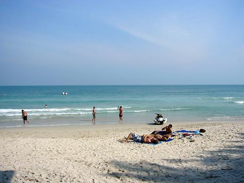 サムイ島‐Chaweng beach-south 17th Jan.07
