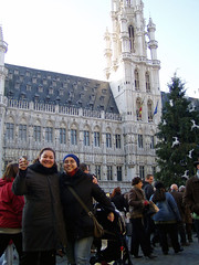 Hot Chocolate in Brussel's Grand Place