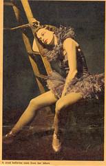 Maggie's Mom 1950s (Vermont Ferret) Tags: ballet ballerina nashville maggie moms 50s ladders bailarina tutus ballerinas musicalframes