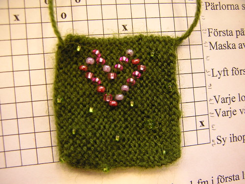 beaded knitting