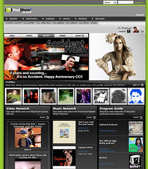 Front Page of PodShow.com 1-22-07