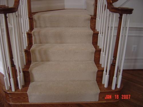 Carpet Runner Installed