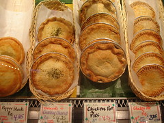 At the Market - pies