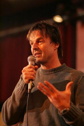 Nicolas Hulot, photo prise par FVZ, utilisée sous licence Creative Commons BY-NC