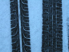 snow tracks (TimBurnsArt) Tags: winter snow night tracks tire tyre yeoldespellyngoftire youaresofuntotease tiredtyres