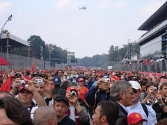 Monza, Grand Prix (dahnielson) Tags: trip italy milano crowd ferrari grandprix formula1 lombardia gp monza tifosi