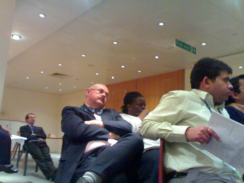 Sleeping through a meeting