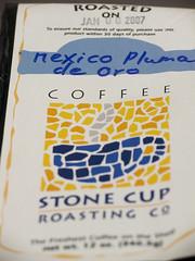 Stone Cup Roasting: Mexico Pluma de Oro