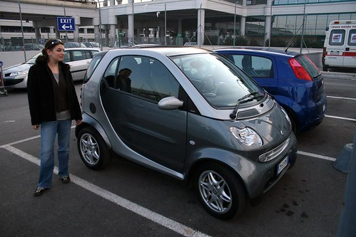 OMG, we rented a ForTwo.