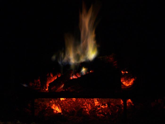 Fuego hipnótico