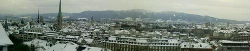 Spires of Zurich