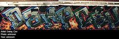 damp_cav (Zomboider) Tags: new york old nyc school subway graffiti 80s sento damp cav tfp