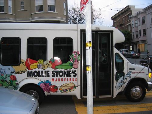 Mollie Stone's minibus