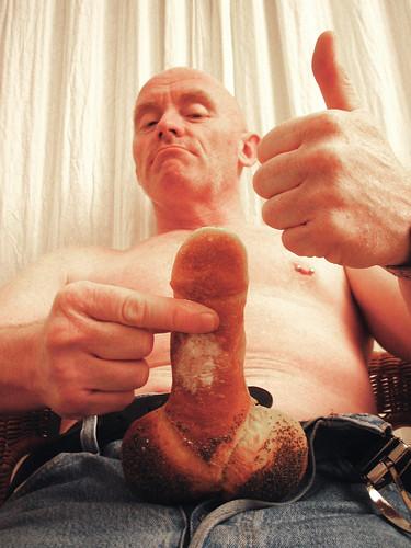 eat my baguette -- baguette magique gross john penis bread johnc strange fun baguettemagique eat