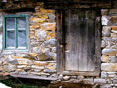 Blue window mill (mark.os) Tags: old blue mill window stone wall bench doors serbia srbija prozor stara kameni sumadija vrata zid klupa stragari plavi vodenica specobject anawesomeshot superbmasterpiece