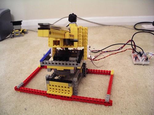 Steven Lovegrove - MQTT Lego Rubber Band Gun