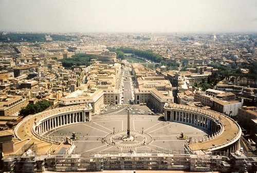 View from Atop St. Peter's Basilica in the Vatican
