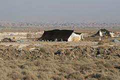 "Bahmeyee nomads tents ""Kapar"" (sar-kelandi) Tags: slr canon 350d tents iran nomad rebelxt lor khuzestan ef247028l kapar bahmeyee"