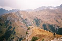 Mountains, cliffs, huge landscape (mm-j) Tags: mountain contax geology exploration centralasia t2 3000m kyrygyzstan