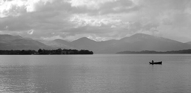Fishing in Loch Lomond