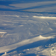snow ripples - by paul+photos=moody