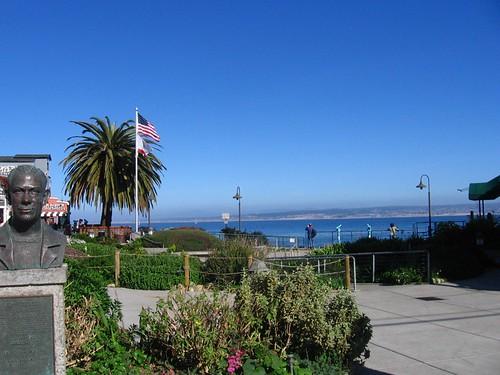 Blue skies in Monterey