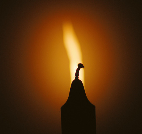 It is better to light one little candle...
