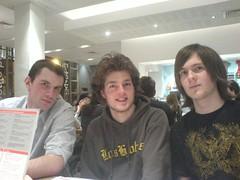 Dan, John & Alistair