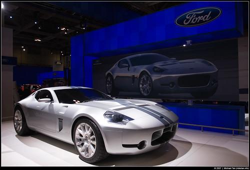 Фото концепт кара Форд Shelby GR 1