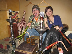 Shimokitazawa Hookah bar (jasonkrw) Tags: friends japan bar tokyo shisha smoke smoking  nightlife hookah shimokitazawa