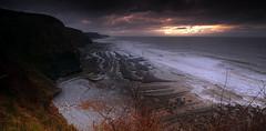 Receding Tide (Sean Bolton (no longer active)) Tags: sea beach water wales coast cymru coastal drwho wfc southerndown seanbolton specnature dunravenbay welshflickrcymru ffotocymrucouk ffotocymru badwolfbay badwolfbeach