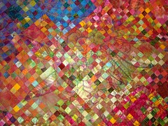 Popsicle days, Firefly Nights quilting detail