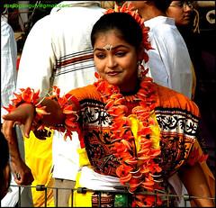 Holi at Santiniketan, India (Sanjib Jagannath Ganguly) Tags: holi santiniketan sanjibganguly photoprofiler palashflower