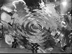 lo extrao (pegatina) Tags: blancoynegro raro abstractos