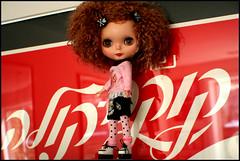 3-coca cola...in any language (rockymountainroz) Tags: grass doll cocacola takara squeakymonkey cinnamongirl perfectlyplastic neoblythe blythism ixtee