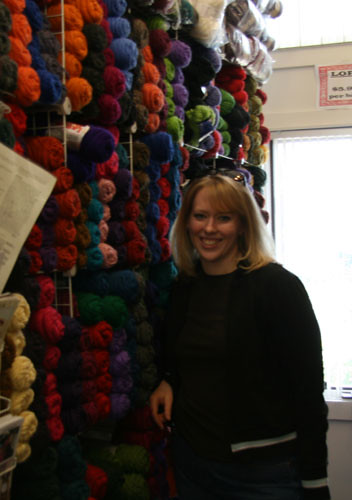 Weaver's Webb Yarn Wall