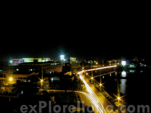 Night Shots atop the Iloilo Provincial Capitol