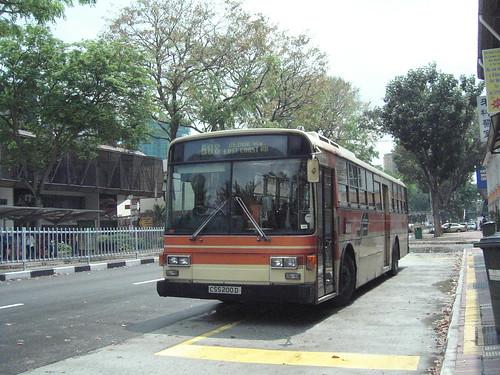 CSS bus service 608