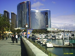Waterfront, San Diego, California (wormster) Tags: california san waterfront diego