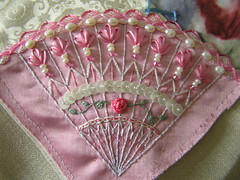 fan (Lin Moon) Tags: fan embroidery cq crazyquilt encrusted crazyquilting
