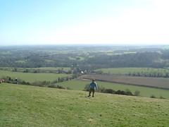 11/03/2007 (Day 101) - Up On Box Hill (Kaptain Kobold) Tags: uk england selfportrait alan spring walk surrey 365 nationaltrust boxhill day101 dayout selfie kaptainkobold 365days yourfave 365sunday 3650307 365set3 365year1