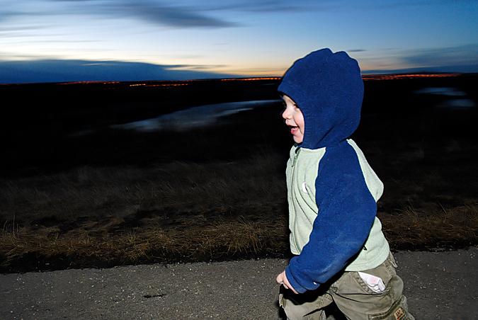 Keegan running